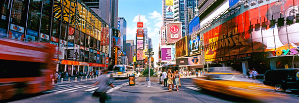 Vacanza a New York, Times Square